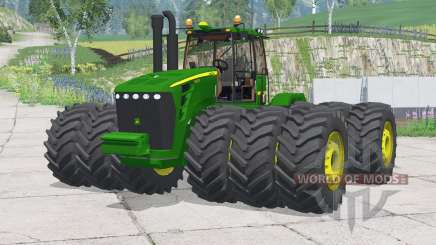 John Deere 9630〡added wheels для Farming Simulator 2015