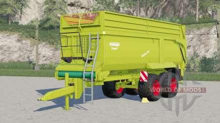 Krampe Bandit 750〡new tires added для Farming Simulator 2017