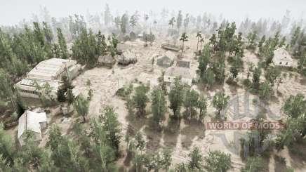 Сибирская деревня для MudRunner