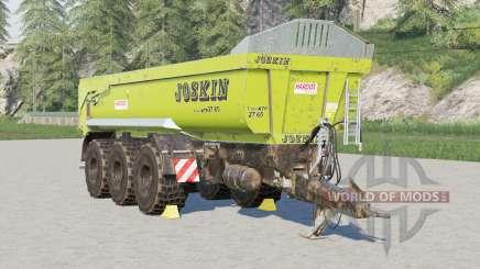 Joskin Trans-KTP 27-65 для Farming Simulator 2017