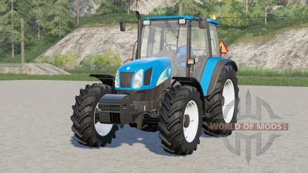 New Holland T5050〡movable front axle для Farming Simulator 2017