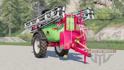 Krukowiak Goliat 8000-40 ALU для Farming Simulator 2017