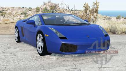 Lamborghini Gallardo 2005 v2.1 для BeamNG Drive