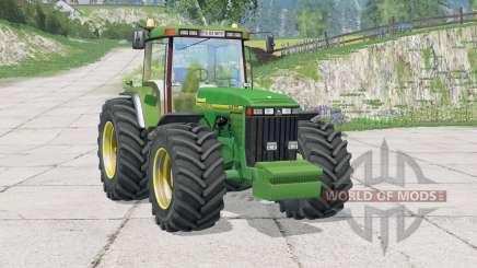 John Deere 8400〡work light для Farming Simulator 2015