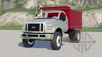 Ford F-750 Super Duty Regular Cab Dump Truck 2015 для Farming Simulator 2017