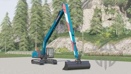 Case CX250D Long Reach для Farming Simulator 2017