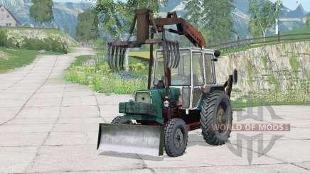 ЮМЗ-6КЛ ПЭ-Ф-1БМ для Farming Simulator 2015