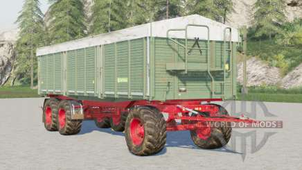 Kröger Agroliner HKD 402〡wooden walls для Farming Simulator 2017