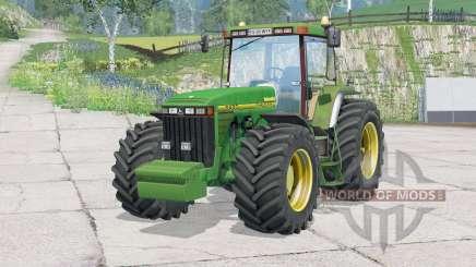 John Deere 8400〡regulagem do volante для Farming Simulator 2015
