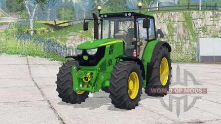 John Deere 6115M〡change wheels для Farming Simulator 2015