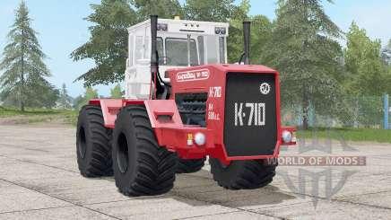 Kirovec K-710〡engine vibration animation для Farming Simulator 2017