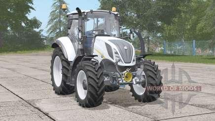New Holland T5 series〡new exhaust effects для Farming Simulator 2017