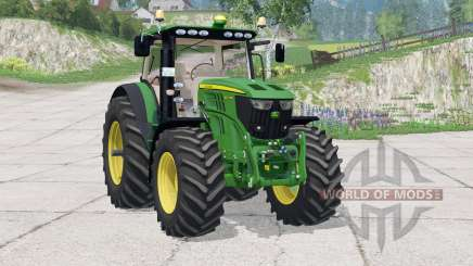 John Deere 6210R〡instrumentpanel belysning для Farming Simulator 2015