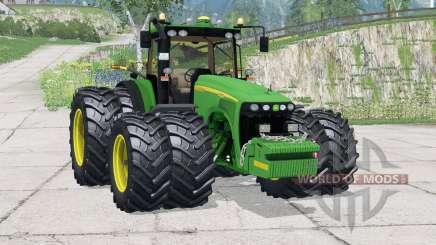 John Deere 8520〡new tires для Farming Simulator 2015