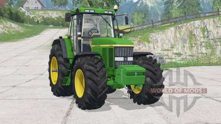 John Deere 7810〡opening bonnet для Farming Simulator 2015