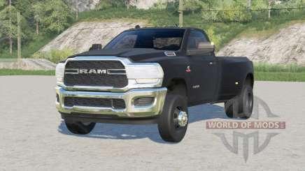 Ram 3500 Regular Cab Dually (D2) 2019〡2 bed options для Farming Simulator 2017