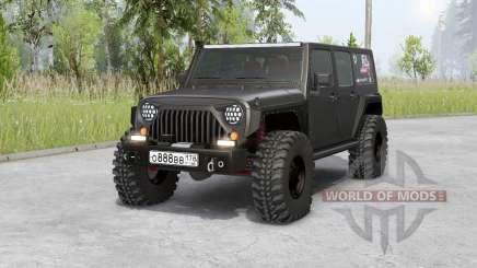 Jeep Wrangler Unlimited Rubicon (JK) 2006 для Spin Tires
